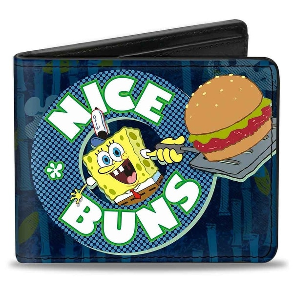 Sponge Bob Nice Buns Bi Fold Wallet - One Size Fits most