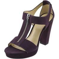 Michael Michael Kors Womens Berkly Suede Open Toe Casual Platform Sandals