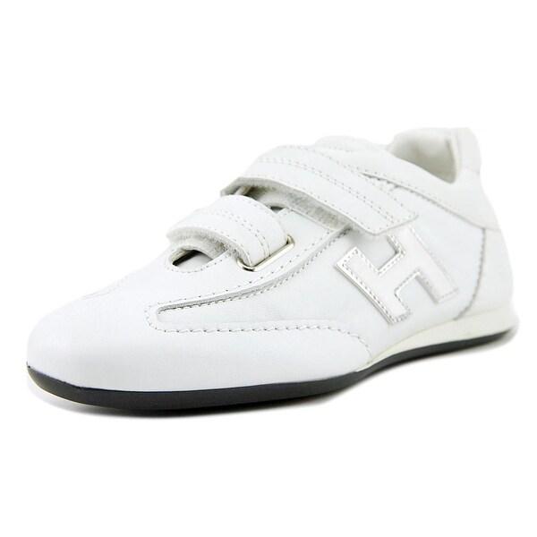 Tod's Olympia Donna Doppio Strap Women Round Toe Leather White Sneakers