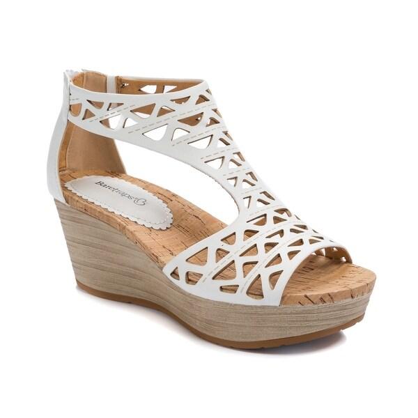 26a2bdc1a4 Shop Baretraps Miriam Women's Sandals White - Free Shipping Today ...