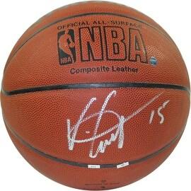 Vince Carter Signed NBA I/O Basketball