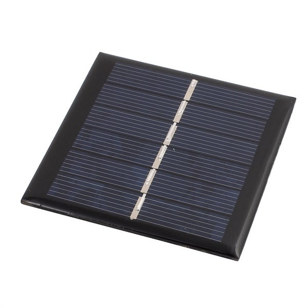 65mm x 65mm 0.6 Watts 3 Volts Polycrystalline Solar Cell Panel Module