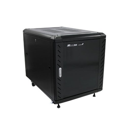 "Startech Rk1236bkf 12U 36"" Knock-Down Server Rack Cabinet With Caster"