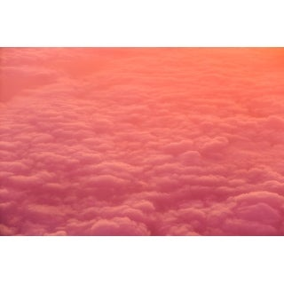 Pink And Orange Clouds Photograph Wall Art Canvas