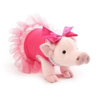 "Prissy and Pop 11"" Stuffed Animal Plush Prissy Mini Pig"