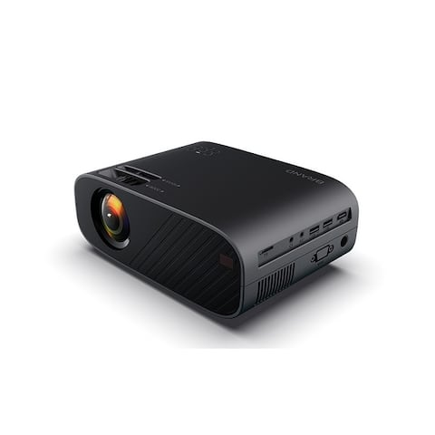 Mini WIFI Portable Projector Mobile Phone 3D 1080P HD Home Theater Video Projector 2300 lumens - 21*14.7*7.5cm