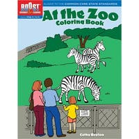 Boost At The Zoo Coloring Book Gr Pk-K