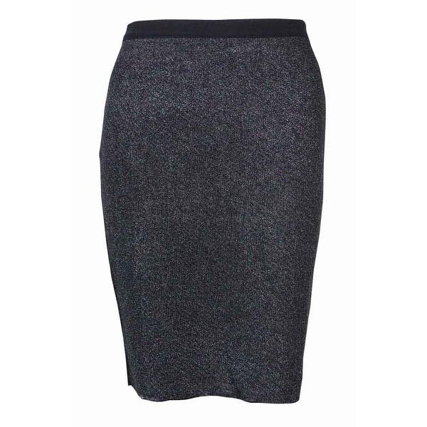 0f6d01d5648 Shop RACHEL Rachel Roy Women s Knitted Metallic Pencil Skirt - Prismatic  Iridescent Combo - S - Free Shipping On Orders Over  45 - Overstock -  14813096