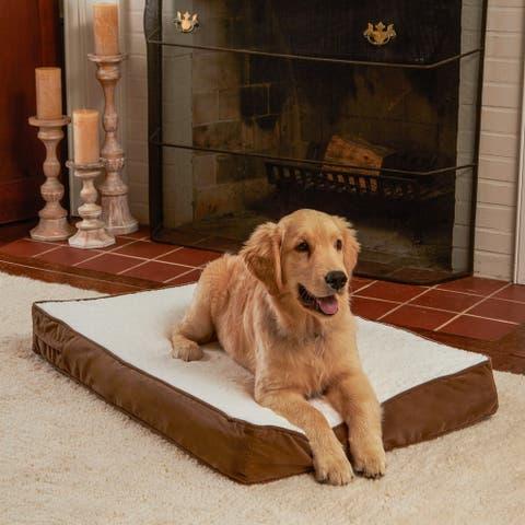 Happy Hounds Ozzie Mocha Orthopedic Dog Bed