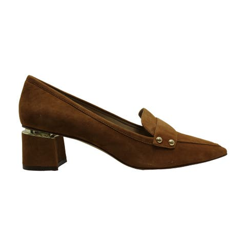 Enzo Angiolini Womens Dainey Leather Pointed Toe Classic Pumps