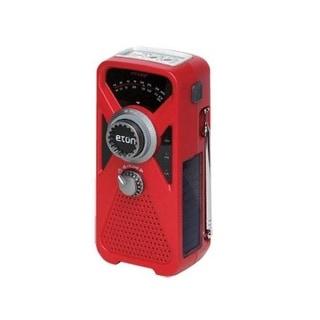 "Eton ARCFRX2WXR American Red Cross Solar/Crank Radio, 5.25"" x 2.5"" x 1.75"""