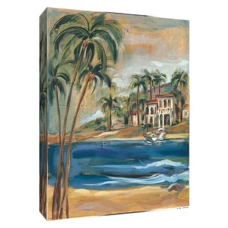 """PTM Images 9-154851  PTM Canvas Collection 10"""" x 8"""" - """"Southern Bay I"""" Giclee Beaches Art Print on Canvas"""