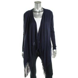 Private Label Womens Cardigan Sweater Open Front Fringe