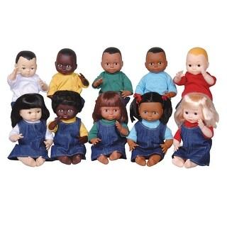 Dolls Multi-Ethnic 10-Doll School Set