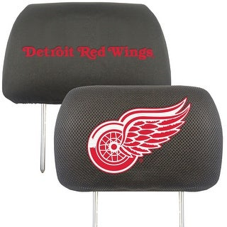 "NHL - Detroit Red Wings Head Rest Cover 10""x13"""