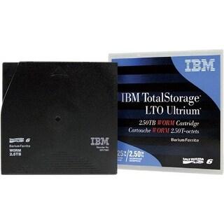 IBM 2.5-6.25 TB Ultrium LTO-6 Worm Data Cartridge - Barium Ferrite