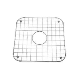 """Mirabelle MIRG1819 17-1/8"""" X 16-3/4"""" Stainless Steel Basin Rack with Protective Bumpers and Feet"""