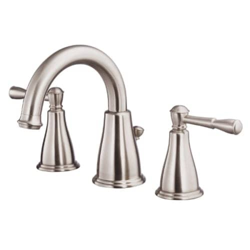 Shop Danze DH304015 Pinot Double Handle Widespread Bathroom Faucet ...