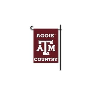 Bsi Products Inc Texas A&M Aggies 2-Sided Country Garden Flag Garden Flag