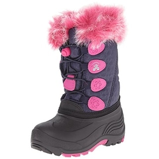 Kamik Girls Snow Gypsy Toddler Faux Fur Snow Boots