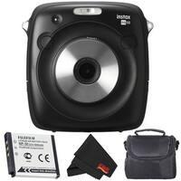 Fujifilm Instax Square SQ10 Hybrid Instant Camera Accessory Bundle