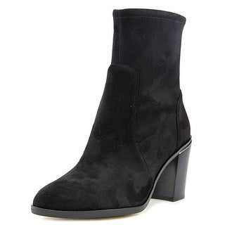 Michael Michael Kors Chase Ankle Pointed Toe Suede Ankle Boot