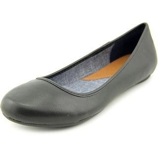 Dr. Scholl's Friendly Round Toe Synthetic Flats