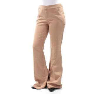 Womens Beige Wear To Work Pants Size 16