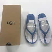 Ugg Women's Kayla Flip Flop Sandals - skyline blue - 6