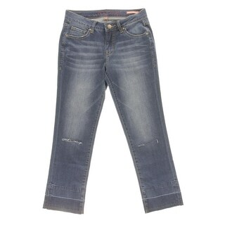 Jag Jeans Womens Flare Jeans Destroyed Mid Rise - 2