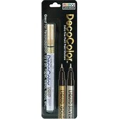 Liquid Gold - Decocolor Extra Fine Metallic Opaque Paint Marker