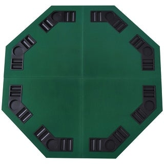 """Link to Soozier 48"""" Octagon Blackjack Poker Game Table Top Folding 8 Player Fit Various Desktop Similar Items in Casino Games"""