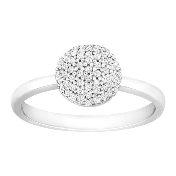 1/4 ct Diamond Ring in Sterling Silver