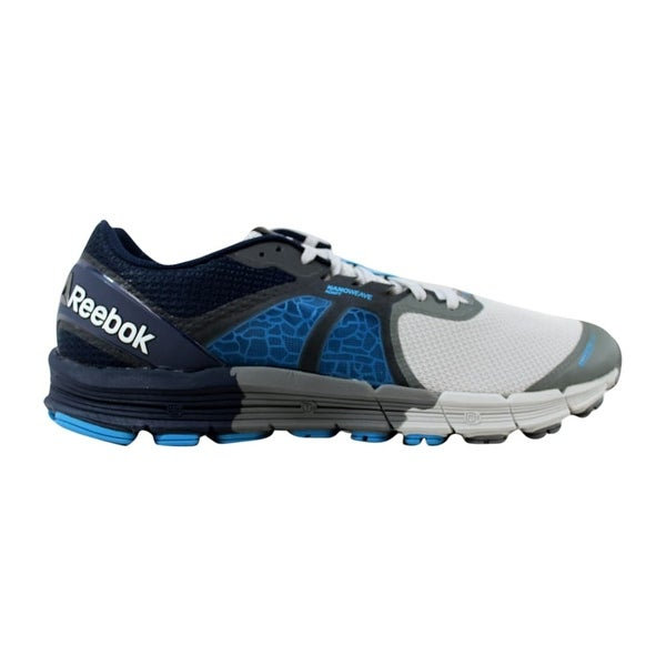 d385a447 Shop Reebok Men's One Guide 3.0 Grey/Alloy-Navy-Blue AR2669 - Free ...