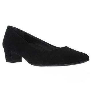Easy Street Prim Kitten Heel Dress Pumps, Black