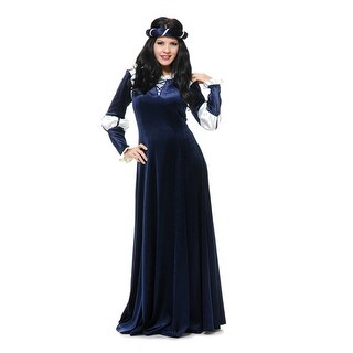 Womens Medieval Country Maiden Halloween Costume