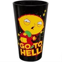 "Family Guy Stewie ""Go To Hell"" 16oz Pint Glass - Multi"