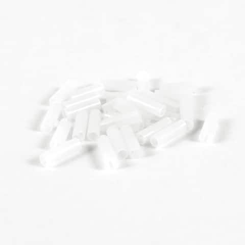 30 Pcs White Nylon PCB LED Spacer Support Cylindrical 2.8mm x 4mm x 13mm