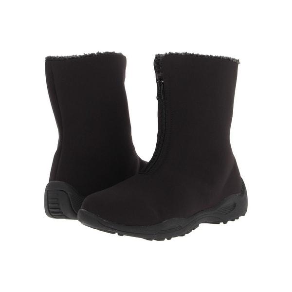Propét Womens Madison Almond Toe Mid-Calf Fashion Boots