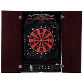 GLD Viper 40-0401 Metropolitan Mahogany Soft Tip Dartboard Cabinet