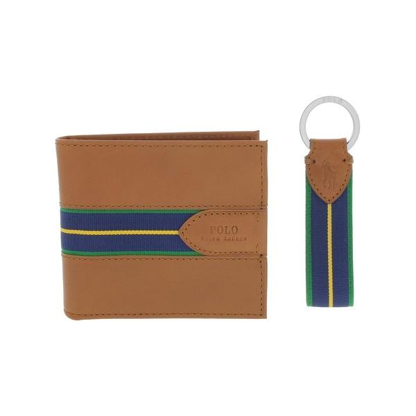 fc23a39ff76 Shop Polo Ralph Lauren Mens Bifold Wallet Contrast Trim 2PC - o/s ...
