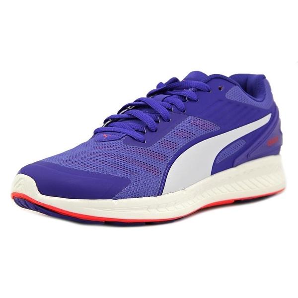 Puma Ignite V2 Women Royal Blue-Red Blast Running Shoes