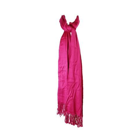 Inc International Concepts Deep Pink Satin Pashmina Wrap OS
