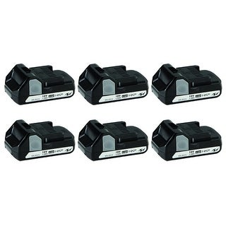 """Replacement Battery for Hitachi BSL1815X (6-Pack) Replacement Battery"""