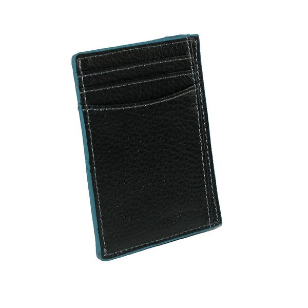 Buxton Men's Leather RFID Front Pocket Travel Wallet - One size