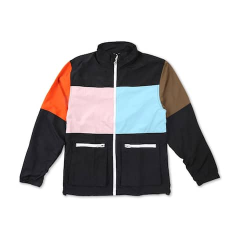 Lrg Mens Block Windbreaker Jacket