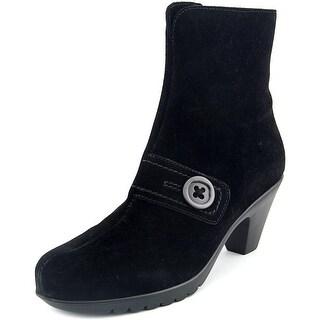 La Canadienne Dorthea Women Pointed Toe Suede Ankle Boot