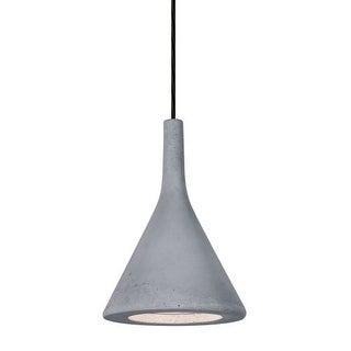 Besa Lighting 1JT-GALANA-LED Gala Single Light LED Mini Pendant with Concrete Shade