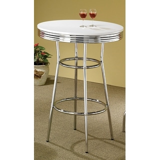 Link to Werner Contemporary Round Bar Table Similar Items in Dining Room & Bar Furniture