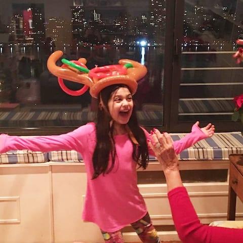 Inflatable reindeer 2 pack holiday party reindeer antler ring game
